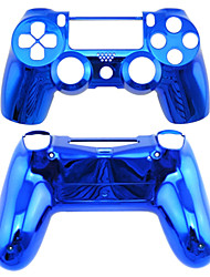 cheap -Replacement Controller Case for PS4 Controller PS4 Case Plating(Green/Blue)