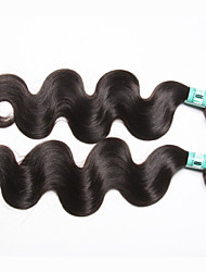"""1 Pc /Lot 12""""-30""""5A Malaysian Virgin Hair Body Wave Human Hair Wefts 100% Unprocessed Malaysian Remy Hair Weaves"""