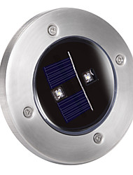 cheap -Solar 2-LED Decking Ground Light for Garden Landscape Lighting, Pathway, Stairway