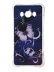 economico -Custodia Per Samsung Galaxy Samsung Galaxy Custodia Resistente agli urti / Fantasia / disegno Per retro Farfalla TPU per J5 (2016)