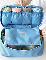 Travel Luggage Organizer / Packing Organizer Travel Toiletry Bag Portable Travel Storage Multi-function for Clothes Bras Fabric / Travel