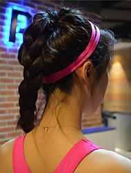 abordables -pelo yoga de los hombres las mujeres de grupos de deportes de la venda elástico antideslizante de caucho cinta absorbente ciclismo de yoga
