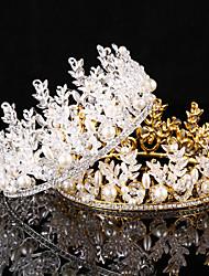 cheap -Alloy Tiaras 1 Wedding Special Occasion Headpiece