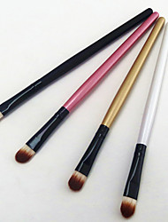 cheap -4 Brow Brush Eyeshadow Brush Nylon Portable Travel Eco-friendly Professional Wood Eye Eyebrow EyeShadow