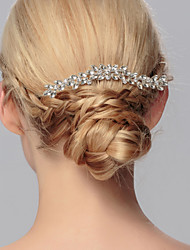 Crystal Hair Combs Headpiece