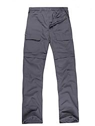 cheap -Men's Hiking Shorts Outdoor Waterproof, Thermal / Warm, Quick Dry Spring / Summer / Fall Convertible Pants / Bottoms Camping / Hiking /