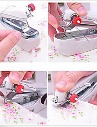 cheap -Home Mini Manual Sewing Machine Portable Small Pocket-sized Sewing Machine Random Color