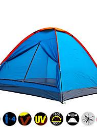 3-4 osoba Šator Za jednu osobu šator za kampiranje Jedna soba Otporno na vlagu Vodootporno Quick dry Ultraviolet Resistant Otporno na