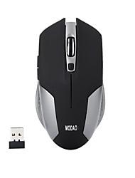 ergonomiche 6 tasti silenziosi 2.4g di gioco ottico senza fili 1600dpi del mouse