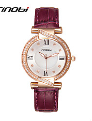 cheap -SINOBI® Watches Women Rhinestone Quartz watch Reloj Mujer Brand Luxury Crystal Watch Women Fashion Wristwatches Cool Watches Unique Watches