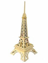 puslespil 3D-puslespil Træpuslespil Byggesten Gør Det Selv Legetøj Berømt bygning Træ