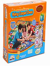 Недорогие -детские головоломки летающих игры в шахматы ковер коврик ползать ковер родитель ребенка играть два