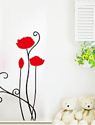 cheap -The Lovers Wedding Room Bedroom Bed Sitting Room Sofa Tv Wall Decoration Stickers Monotonous Is A Kind Of Beauty