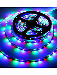 cheap -5m RGB Strip Lights 300 LEDs 3528 SMD RGB Remote Control / RC / Cuttable / Self-adhesive 12 V / Color-Changing