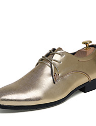 Men's Wedding Shoes Office & Career/Party & Evening/Casual Fashion Leather Oxfords Shoes Multicolor 38-45