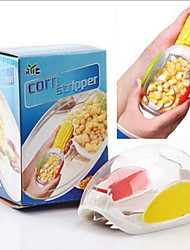 1pc New Home Car Shaped Kitchen Tool Corn Cob Peeler Thresher Stripper Remover