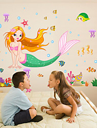 cheap -Decorative Wall Stickers - Plane Wall Stickers Cartoon Living Room / Bedroom / Dining Room