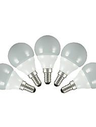 levne -FSL® 200 lm E14 E26/E27 LED kulaté žárovky G60 5 lED diody SMD 2835 Teplá bílá Chladná bílá AC 220-240V