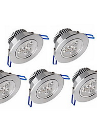 Decoration Light 3 High Power LED 600lm Warm White Cold White 3200K/6000K Decorative Dimmable AC 100-240V