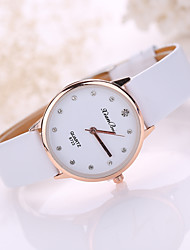 cheap -Women's Leather Band Analog Quartz Fashion Watch Jewelry Cool Watches Unique Watches