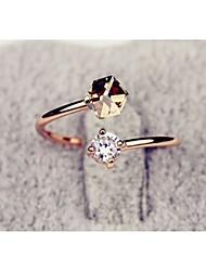 cheap -The Latest Fashionable Color Diamond Ring Woman