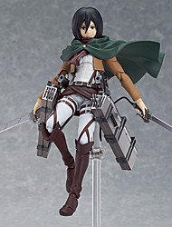 Attack on Titan Mikasa Ackermann PVC Anime Action Figures Model Toys Doll Toy