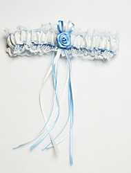 cheap -Polyester Classic Wedding Garter with Lace Sweetheart Flower Garters