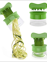 cheap -Vegetable Spiralizer Carrot Cucumber Slicer Spaghetti Salad Maker Fruit Cutter Cheese Kitchen