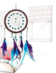 Forest Dreamcatcher Gift Handmade Dream Catcher Net With Feathers Wall Hanging Decoration Ornament
