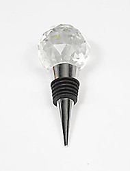 1Pc Crystal Ball Design Practical Wine Stoppers Home Decoration