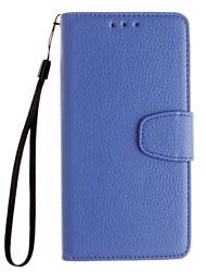 il portafoglio in pelle goffrata lasciata aperta per Huawei Y530 / Y5 / Y560 / compagno 7 / P8 / p8lite