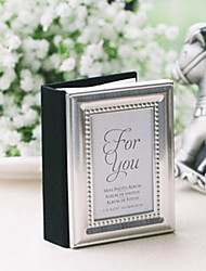 cheap -20th Wedding Anniversary Mini Photo Album Favor / Place Card Holder Party Favors