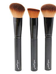cheap -Professional Makeup Brushes Set 3pcs Multipurpose Brushes For Face Makeup