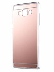 Недорогие -для Samsung Galaxy а7 A710 зеркальный шкаф мягкая TPU задняя крышка Samsung Galaxy a3 a5 a7 2016 года