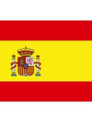 cheap -Spain Flag Nation Polyester Banner Flying Custom Flag All Over The World Worldwide Outdoor(No flagpole)