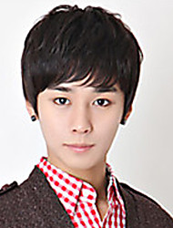 cheap -Japan and South Korea Handsome Students Wig  Short Hair Male Hair Non-Mainstream Men Wig