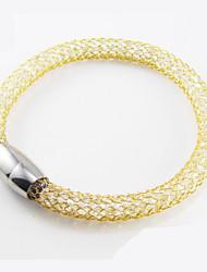 Homens Feminino Bracelete bijuterias Aço Inoxidável Jóias Para Casamento Festa Diário Casual