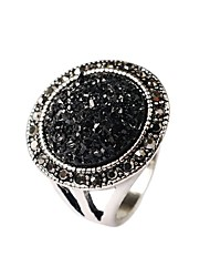 cheap -Women's Statement Ring - Gold Plated Fashion One Size Black / Screen Color For Party