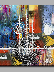 cheap -Mini Size Oil painting Modern Abstract Pure Hand Draw Frameless Decorative Painting