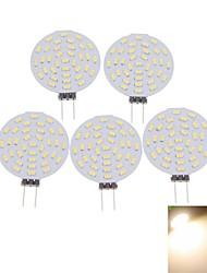 billiga -SENCART 400-480lm G4 LED-spotlights MR11 36 LED-pärlor SMD 3014 Dekorativ Varmvit / Kallvit 12V / 5 st / RoHs / CE
