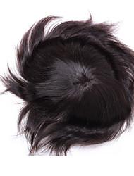 """parte dei capelli indiani """"x8"""" toupee 10 100% degli uomini con una chiara unità di elaborazione intorno al perimetro"""