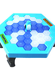 cheap -Breaker Ice Save Penguin Board Games Balance Ice Cubes Icebreaker Beating Knock Ice Block Wall Toys Interactive Desktop Party paternity Games