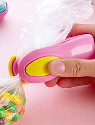 Portable Mini Snacks Plastic Bags Heat Sealing Machine Travel Hand Pressure Type