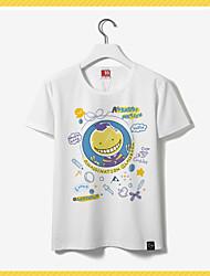 abordables -Inspiré par Assassinat de classe Korosensei Manga Costumes de Cosplay Cosplay T-shirt Imprimé Manches Courtes Tee-shirt Pour Unisexe