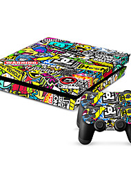 cheap -New Protective Sticker Cover Skin for PS4(TN-PS4-0106)