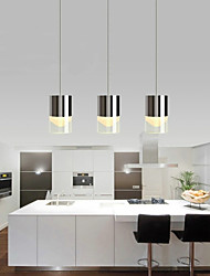 cheap -3 Lights Pendant Lights LED / Bulb Included Modern/Contemporary Dining Room / Kitchen Metal