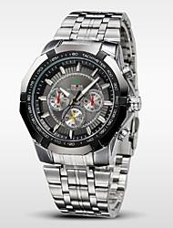 cheap -WEIDE® Men's Sports Watch Military Full Steel Quartz Luxury Waterproof Wristwatch Cool Watch Unique Watch