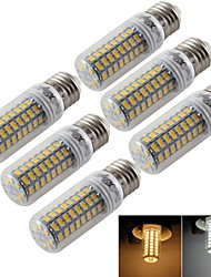 abordables -e14 e26 / e27 led maïs lumières t 72 smd 5730 300lm blanc chaud froid blanc 3000k / 6000k décoratif ac 220-240 ac 110-130v