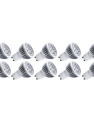 cheap -4W E14 GU10 GU5.3(MR16) E26/E27 LED Spotlight MR16 5 High Power LED 400 lm Warm White Cold White 3000/6500 K Decorative AC 85-265 V