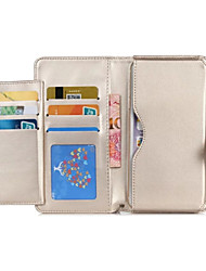 cheap -Case For Huawei G7 / Huawei P8 / Huawei Honor 6 P8 Lite / P8 / Huawei Case Wallet / Card Holder Full Body Cases Solid Colored Hard PU Leather for P10 / Huawei P8 Lite / Huawei P8